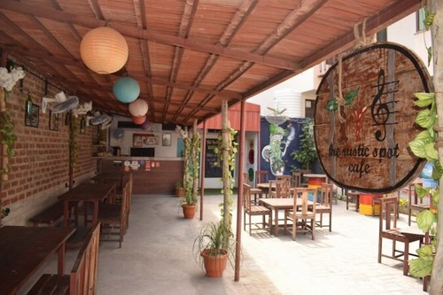 The Rustic Spot Cafe Gopalpura Jaipur